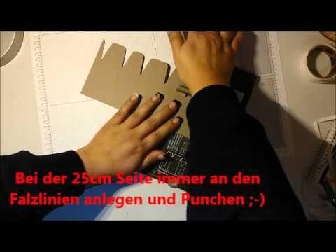 Anleitung  6 eckige Box
