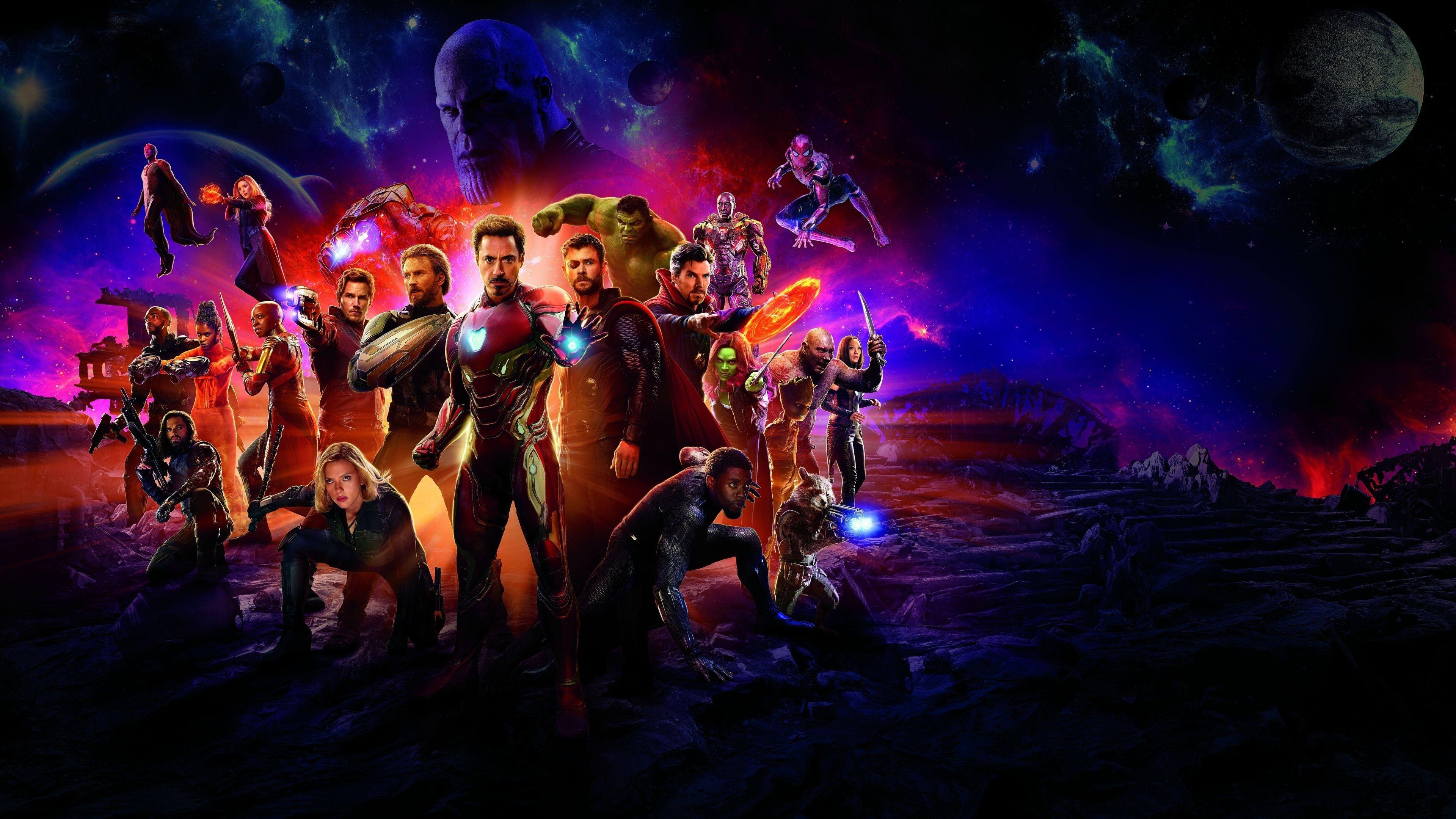 The Avengers och deras allierade superhjältar riskerar ...