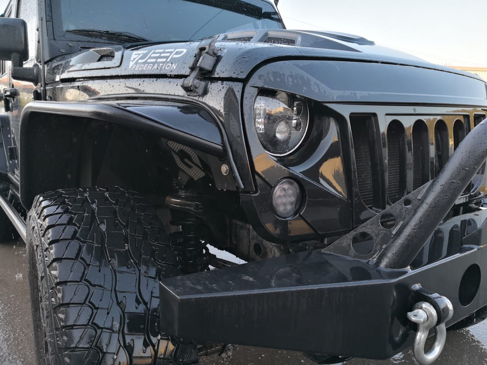 Jeep Federation Fenders For Jeep Wrangler Jk Jku Jeep Wrangler