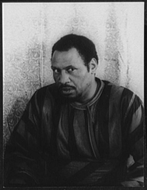 """Van Vechten's Portrait of Paul Robeson, as """"Othello"""". 1944"""
