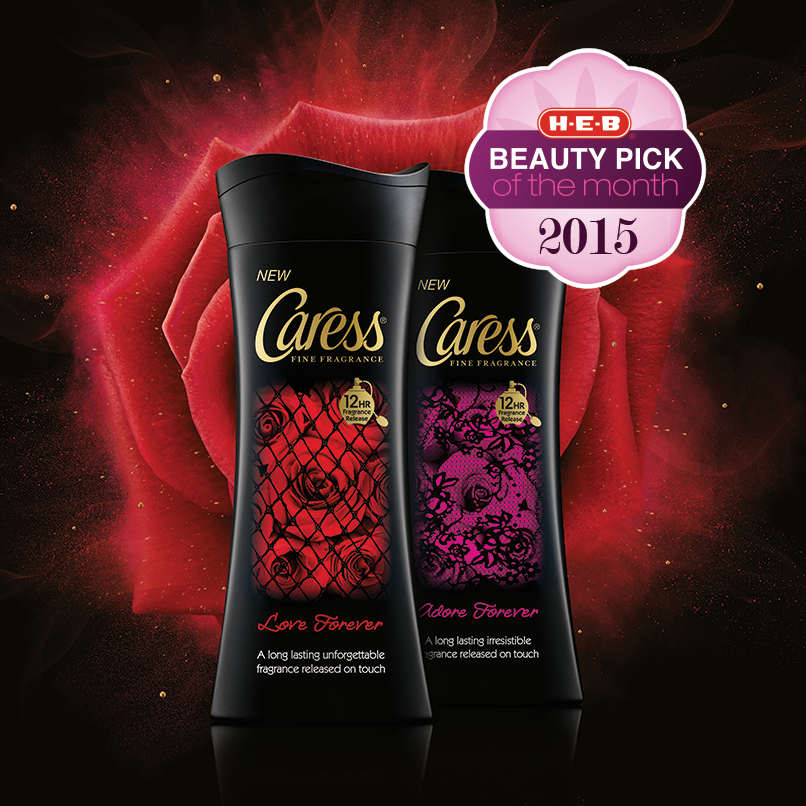 The February H-E-B Beauty pick of the month is Caress Fine Fragrance Body Wash. Unlock a long lasting scent each time you touch your skin. Read reviews on this product from the H-E-B Beauty Panel. #HEBbeauty