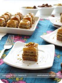 Catalina Bakes: The Daring Bakers' Challenge: Walnut, Pistachio and Hazelnut Baklava
