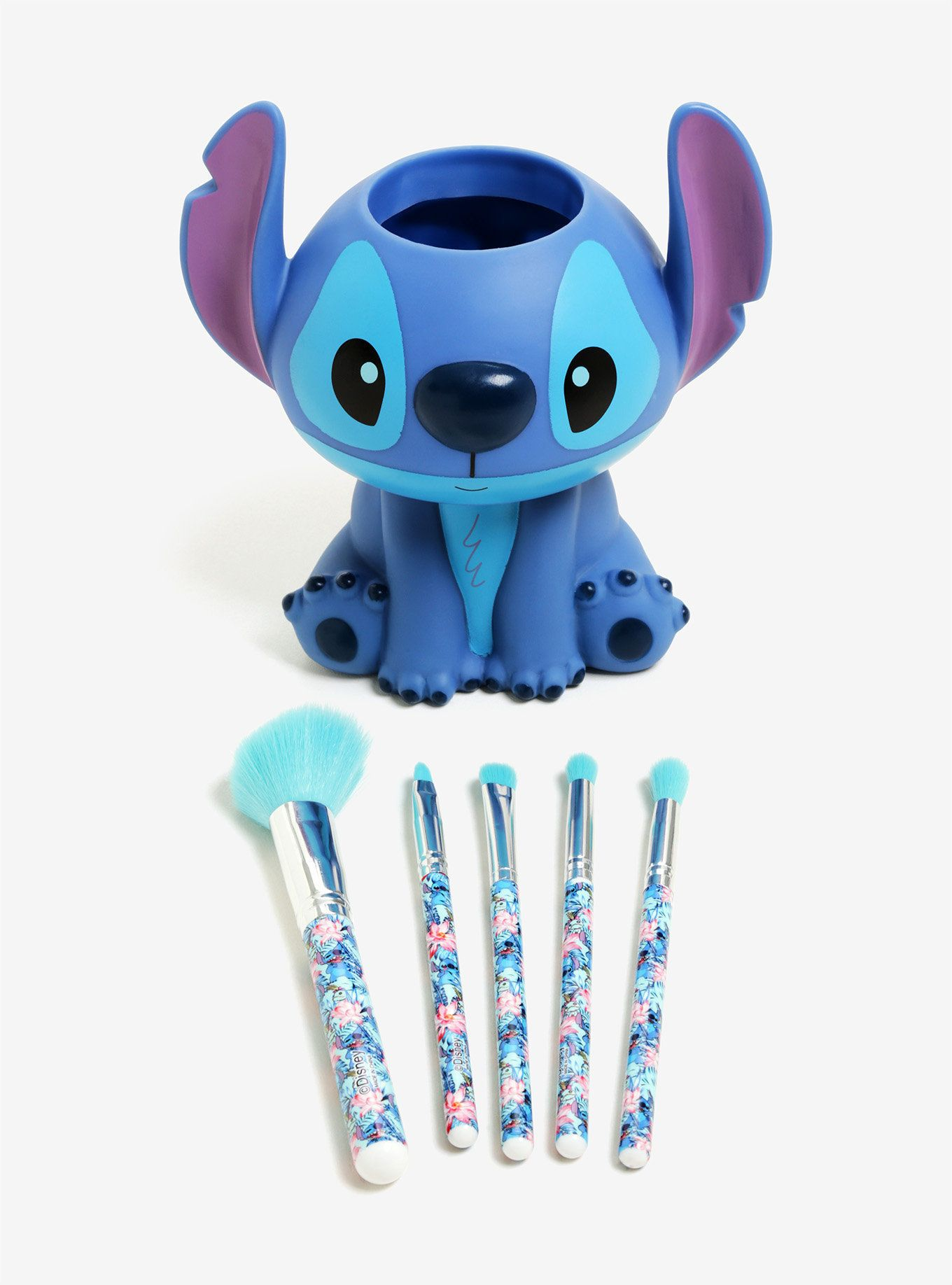 But that's not all — it comes with a brush holder shaped