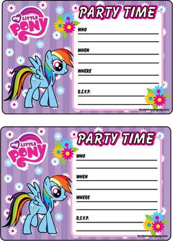 Invitation 2 my little pony invitations free printable ideas invitation 2 my little pony invitations free printable ideas from family shoppingbag filmwisefo Image collections