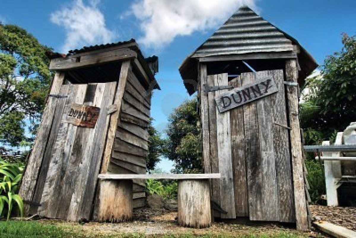 Aussie Outhouse Or As We Would Call It The Outdoor Dunny Outhouse Bathroom Farmhouse Style Outside Toilet