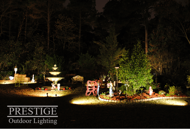 Highlight The Features Of Your Garden You Re Most Proud Of Landscape Lighting Holiday Lights Outdoor Garden Lighting