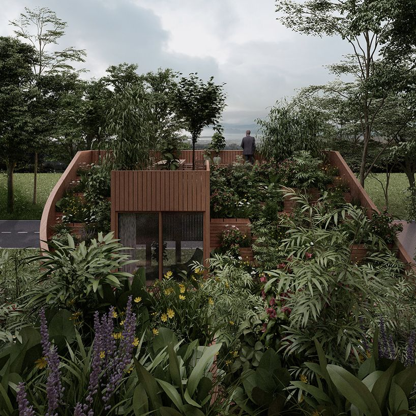 Penda Plans Yin Yang House For A Family That Wants To Live Off