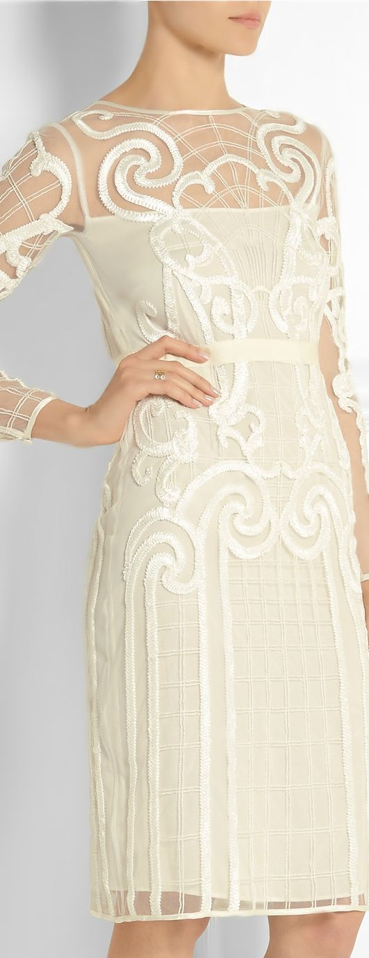 Temperley London ● Spring 2014, Lace 'Catroux' dress