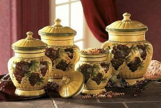 tuscan kitchen canisters sets - kitchen design ideas
