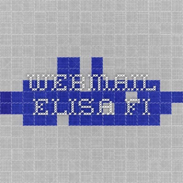 webmail.elisa.fi