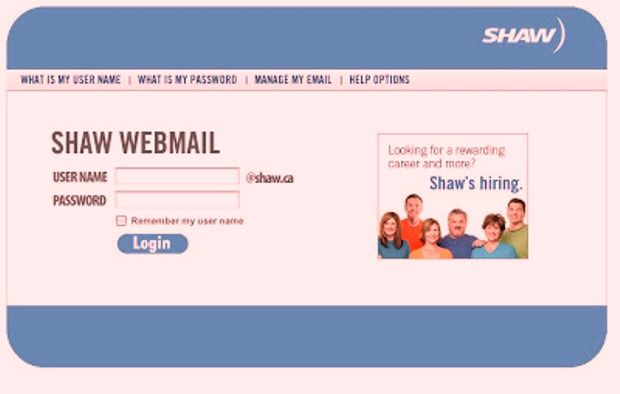 shaw webmail login sign in guide shaw webmail login provides you all rh fi pinterest com