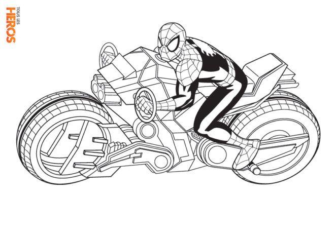 Coloriages Spiderman Gratuits Sur Le Blog De Tous Les Heros Bambini Di Colore Disegni