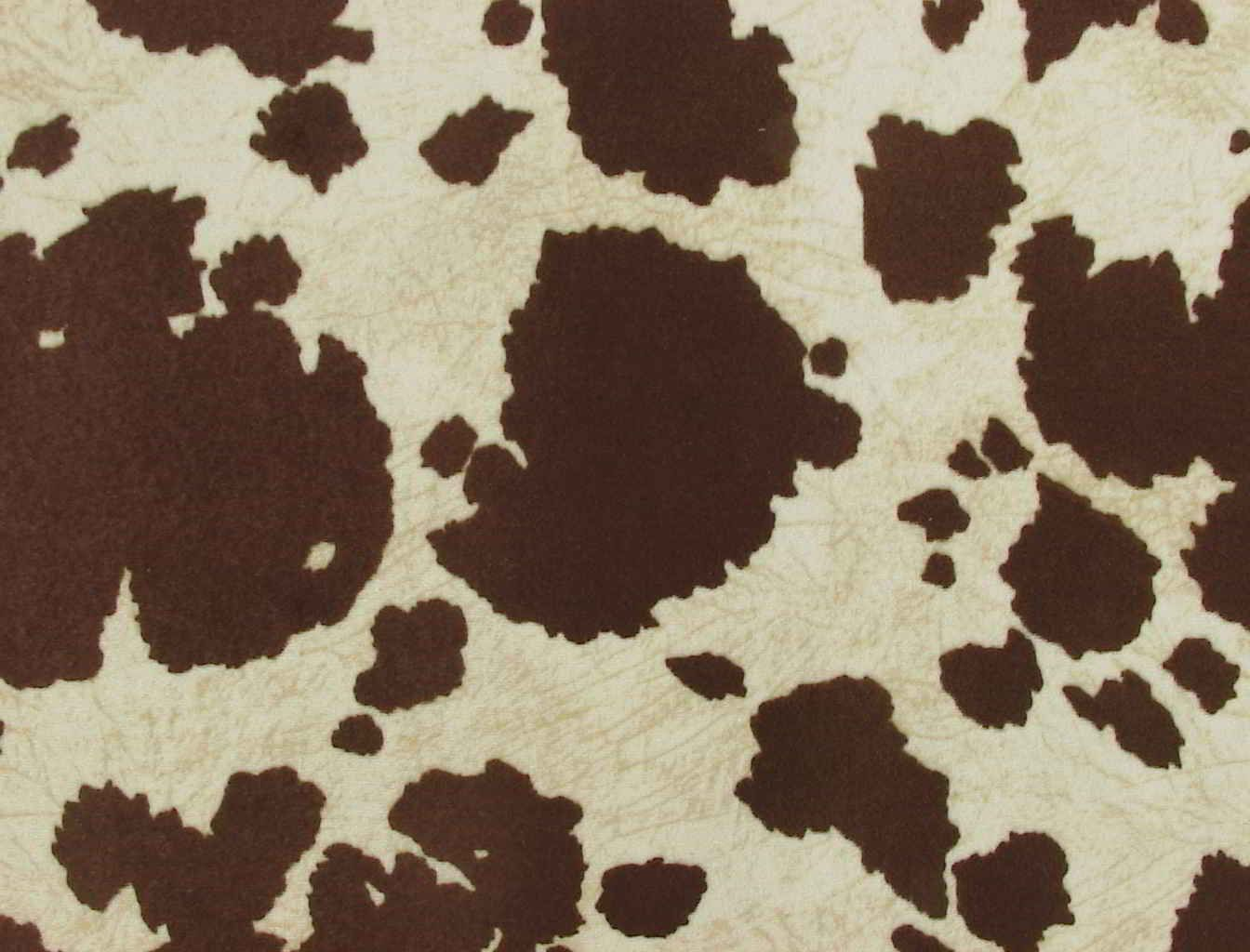Horse Hide With Hair Cow Print Fabric