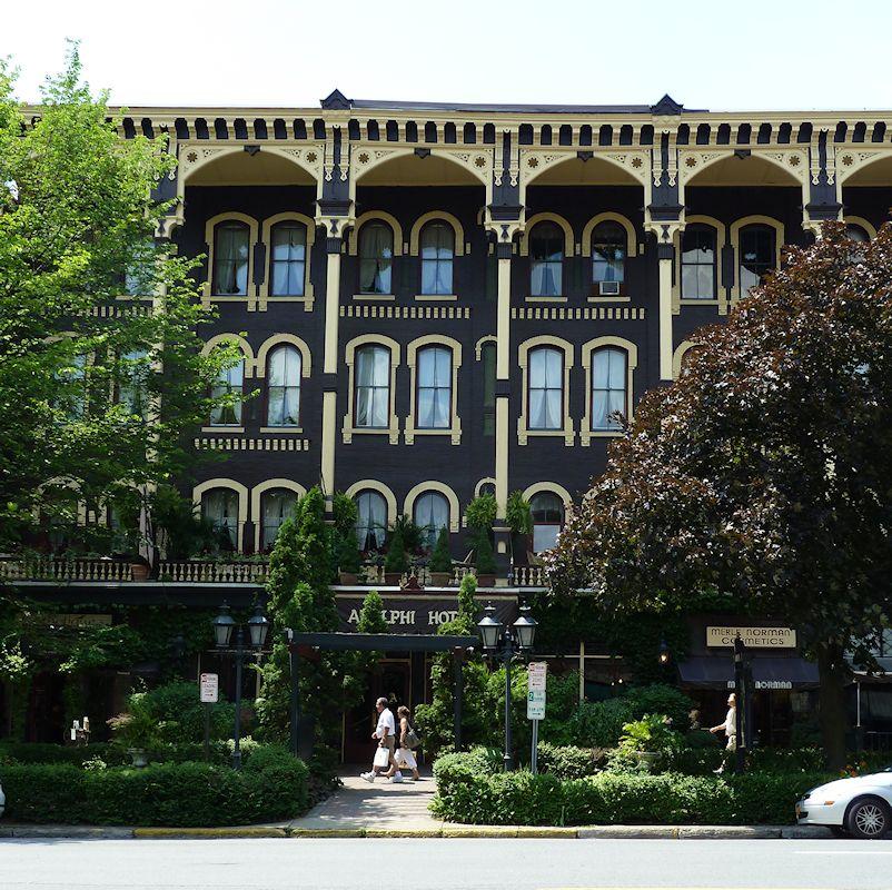Adelphi Hotel Saratoga Springs Ny Beautiful Old Saratogasprings Travel