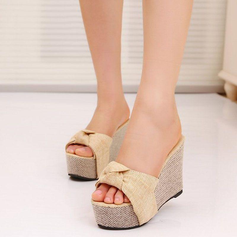 e97fbce94 Encontrar Más Sandalias de las mujeres Información acerca de Moda de estilo  de verano zapatillas Flip
