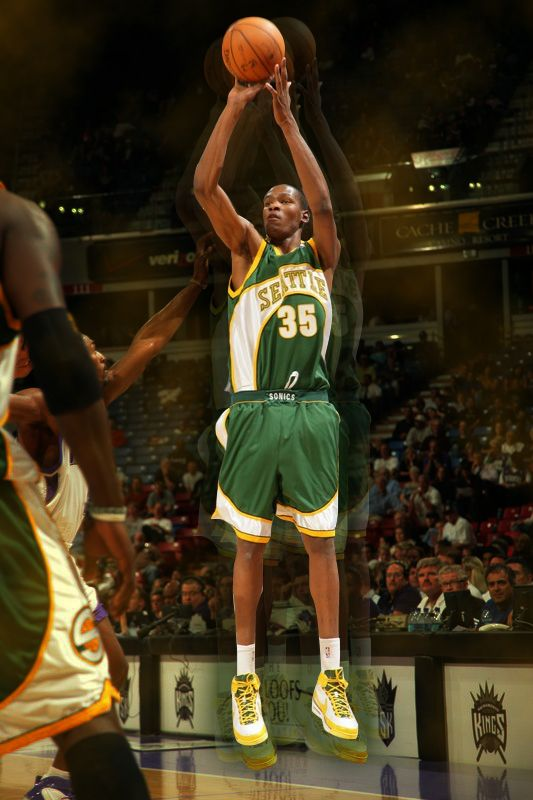 e99d8555e58f Kevin Durant - Seattle Supersonics -Where it all began ...