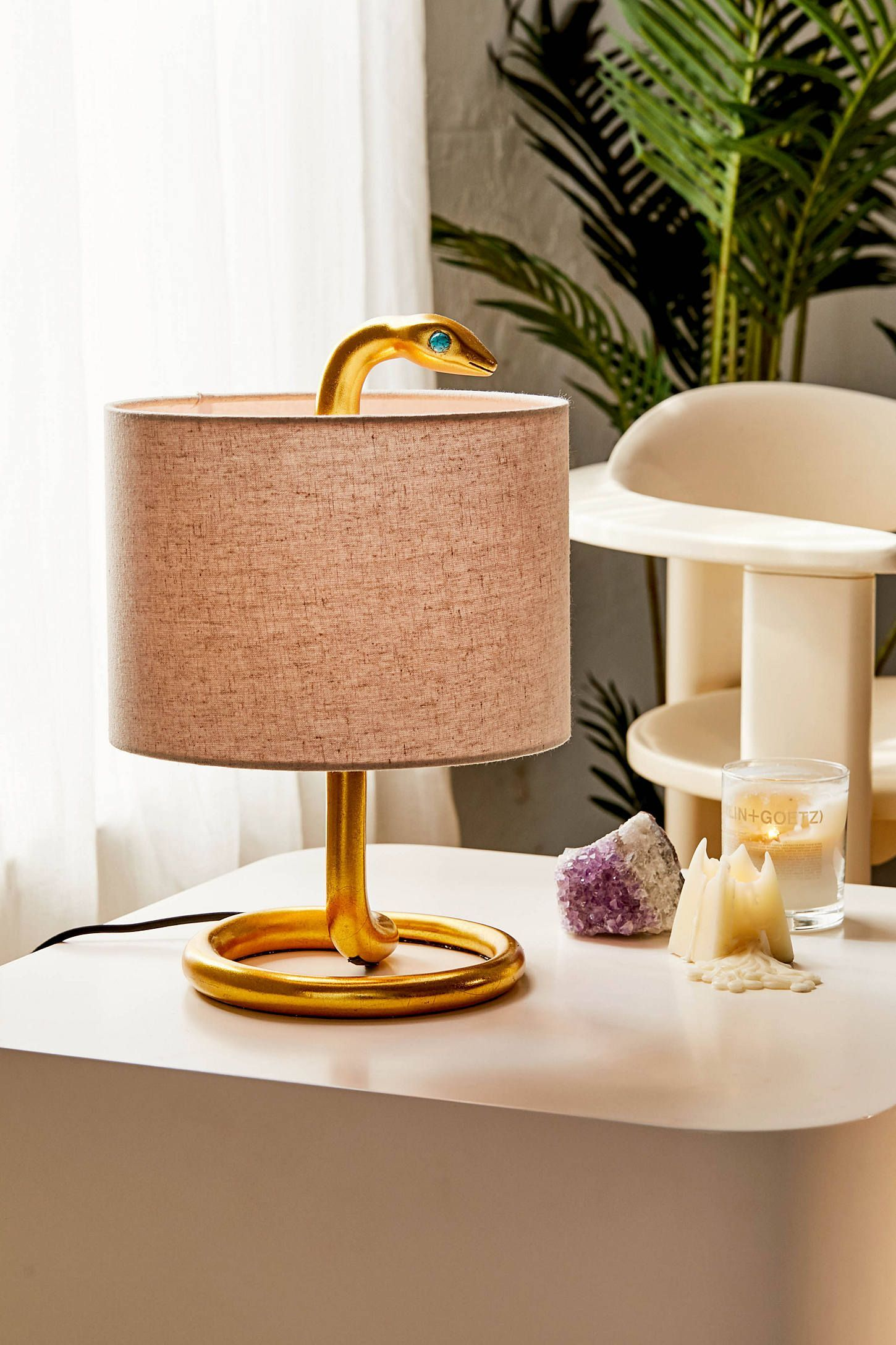 Snake Metal Table Lamp Urban Outfitters Modernhomedecorretro Metal Table Lamps Table Lamp Room Lamp