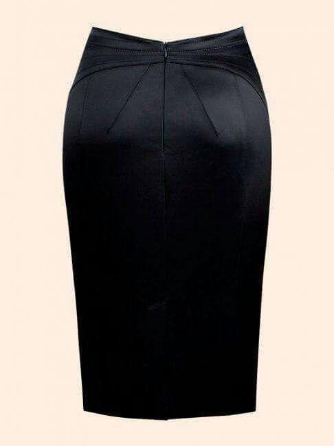 8a9ac6878 Bonita Falda a la rodilla | Mis modas | Faldas tubo, Faldas modernas ...