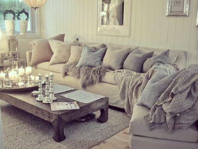 Wohnzimmer kuschelig  kuschelig | Wohnen und Leben | Pinterest | Wohnzimmer, Wohnen und ...