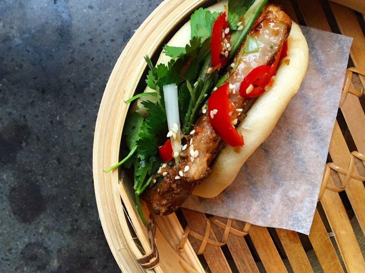Pork Belly Buns - vietnamesiske bao med braiseret svinebryst - kokblog.dk