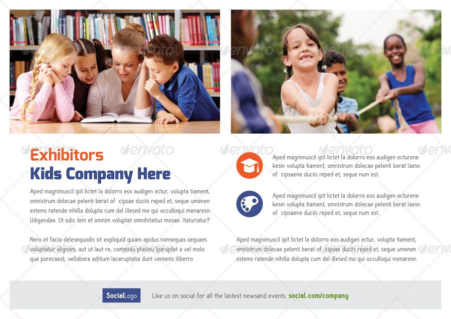 School Book Brochure Templates Brochure template, Brochures and - school brochure template