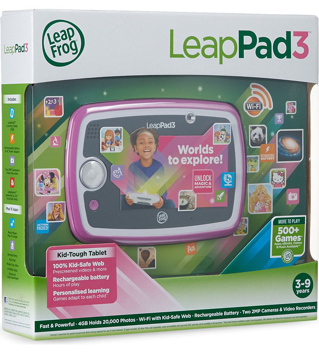 LEAP FROG LeapPad 3 tablet Leap frog