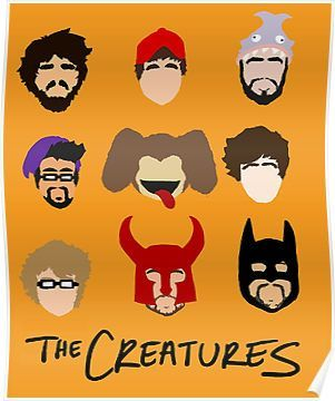 The Creatures 2013 Posters