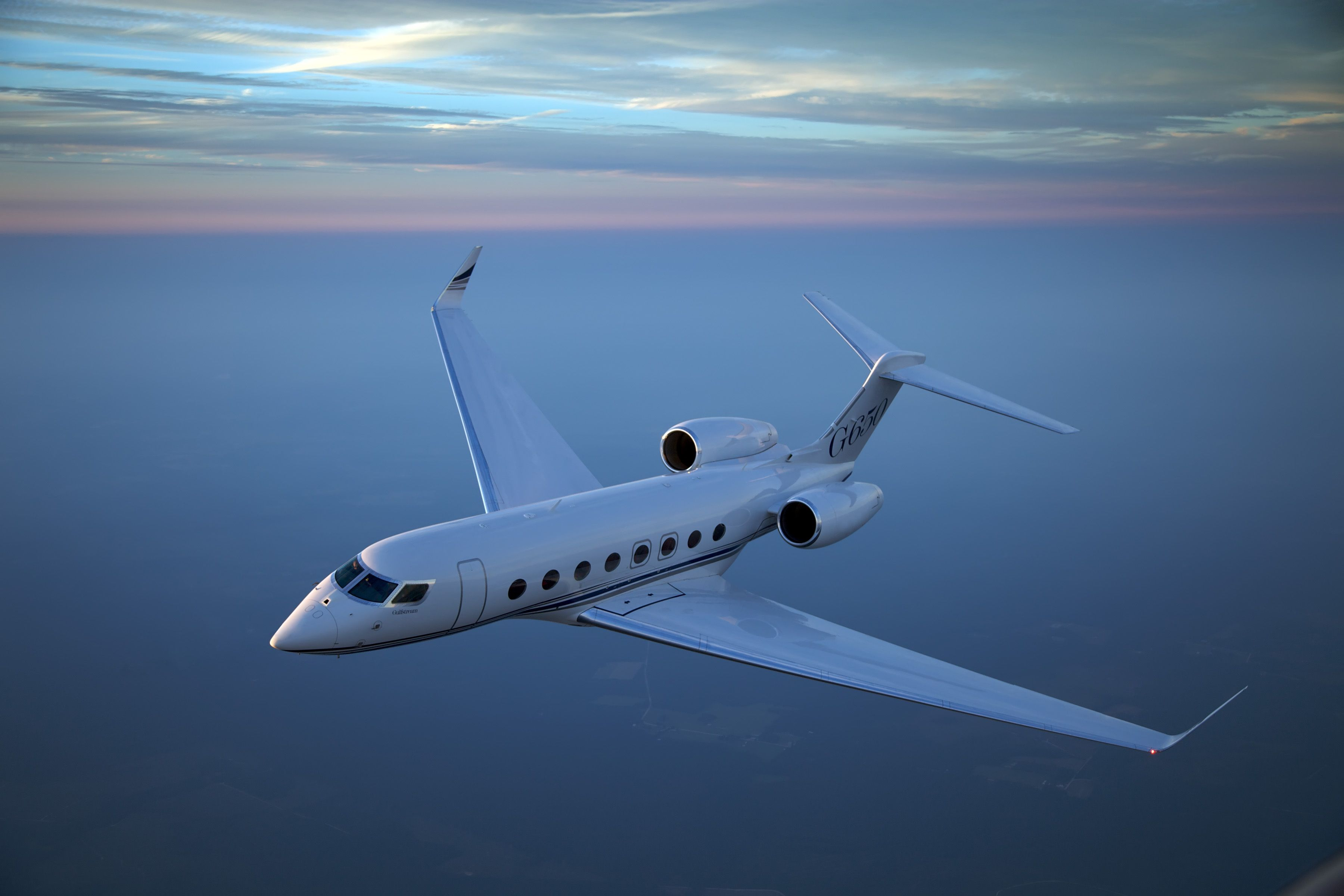 New record breaker and most efficient business jet in the world made by gulfstream aerospace corp