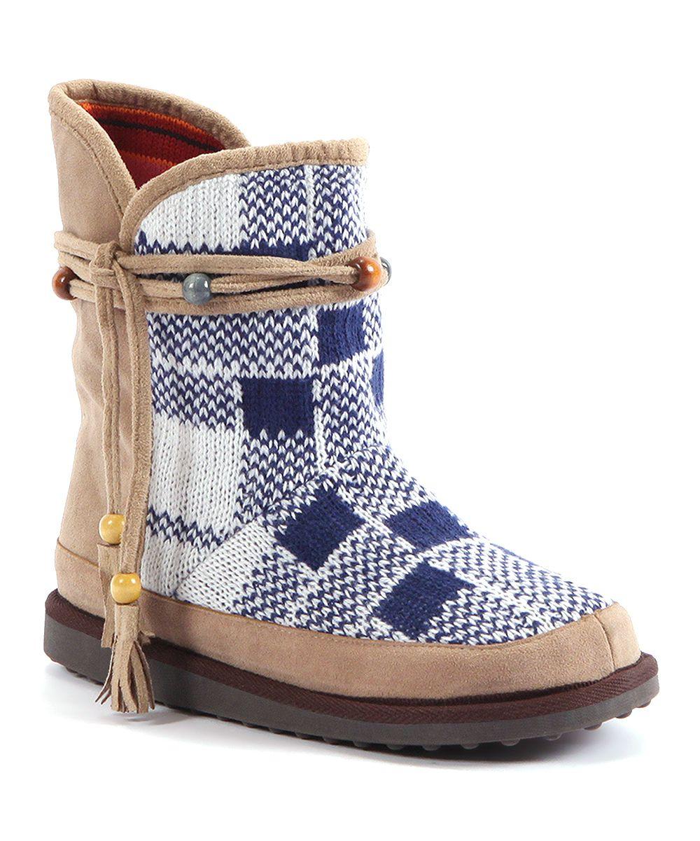 Khaki Evelyn Beaded Tassel Boot Women Daily Deals For