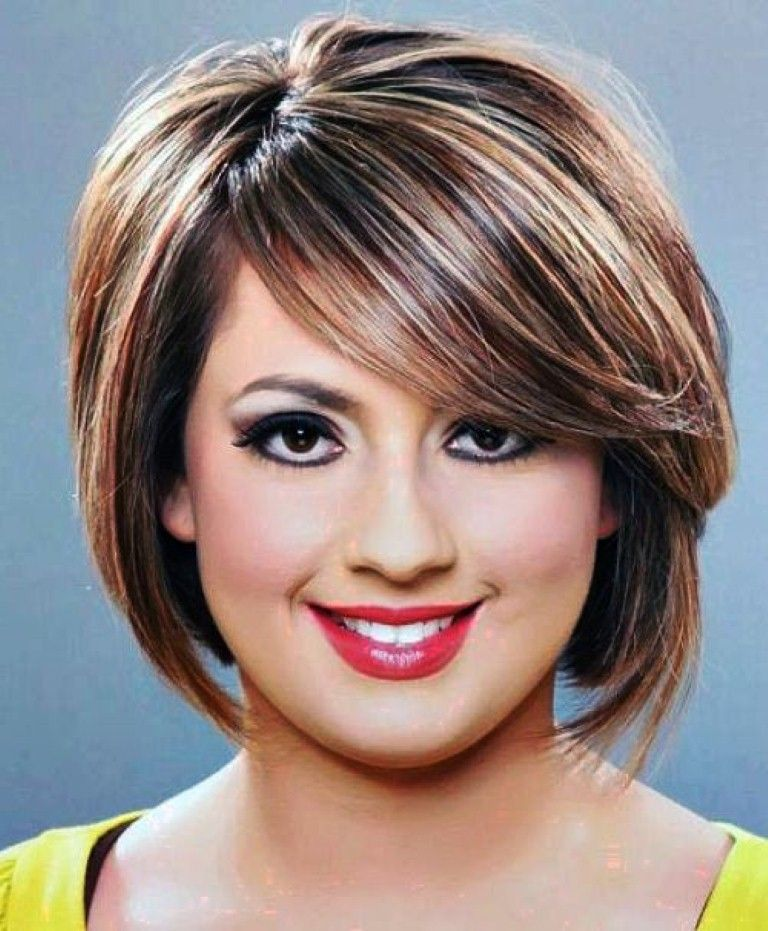 short haircut styles for plus size women - Google Search | hair ...