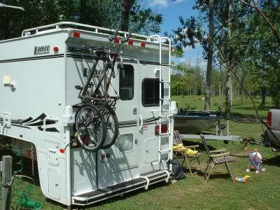 Rvnet Open Roads Forum Truck Campers Niknas Inspired Ladder Mount