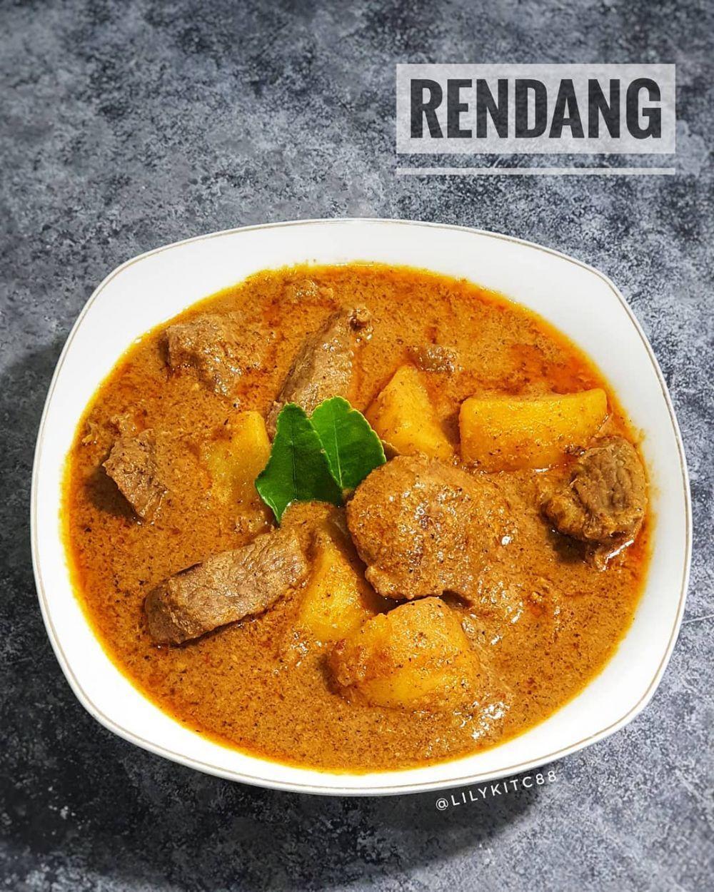 17 Resep masakan lebaran © 2020 Instagram/@nenipuspit ...