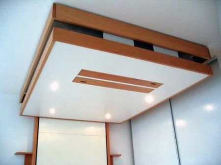 ideas de camas que se esconden en el techo pared o dentro de armarios muebles pinterest. Black Bedroom Furniture Sets. Home Design Ideas
