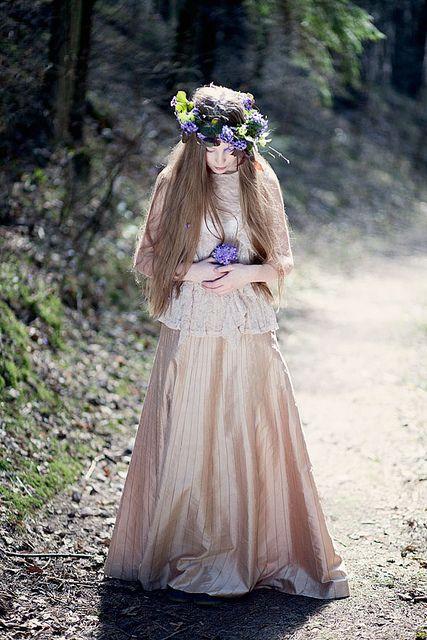 Happy Birthday, my Sweetheart! by loretoidas, via Flickr, forest maiden, fantasy, medieval