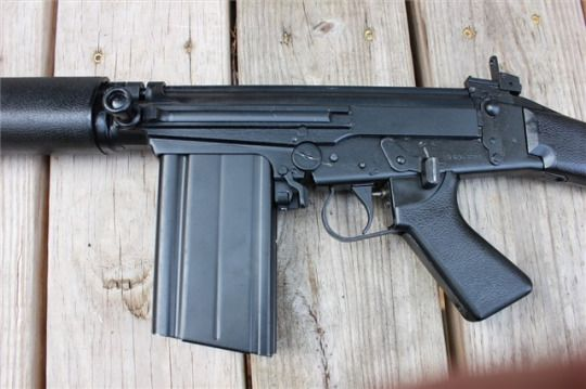 L1A1 U S made FAL from Century Arms using a demilled L1A1 parts kit