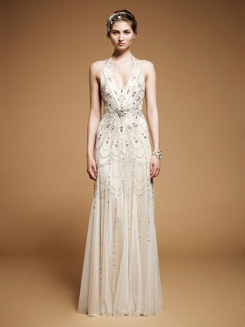 Sarah burton wedding dress  Vintage glamour Jenny Packham Fall   Nbgn  Pinterest