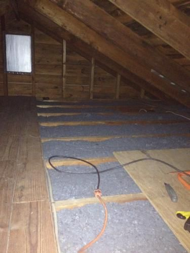 Ultratouch R 30 Denim Insulation Batts 15 In X 48 In 12 Bags 10003 03015 The Home Depot Construction Diy Attic Remodel Attic Storage