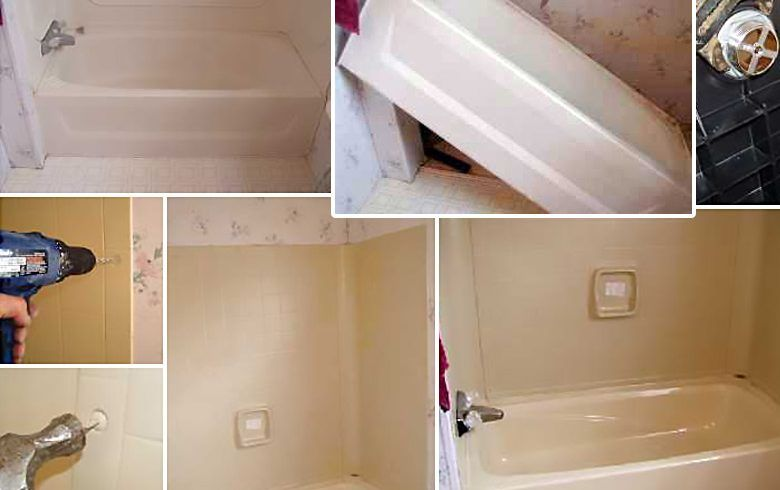 Replace or Repair a Mobile Home Bathtub | Bath tubs, Tubs and Bath