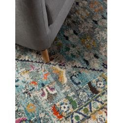 Photo of benuta Teppich Casa Blau 300×400 cm – Vintage Teppich im Used-Look benutabenuta