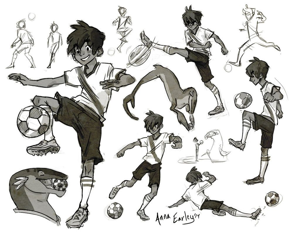 Fifa S Got Me In A Soccer Mood Art Reference Poses Soccer Drawing Football Poses