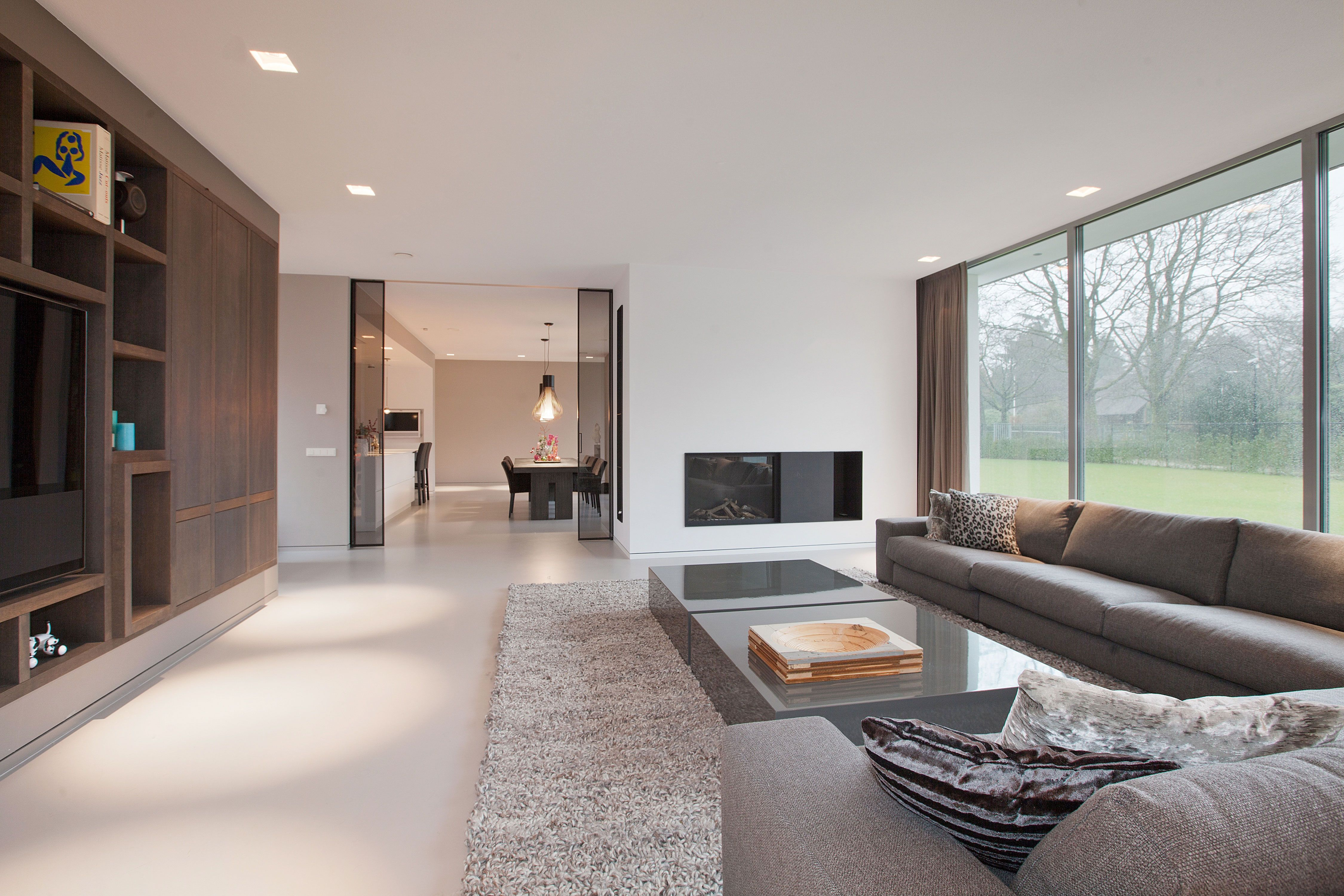 Strak Interieur Woonkamer Modern And Strak Interieur En Design Meiling Interieur