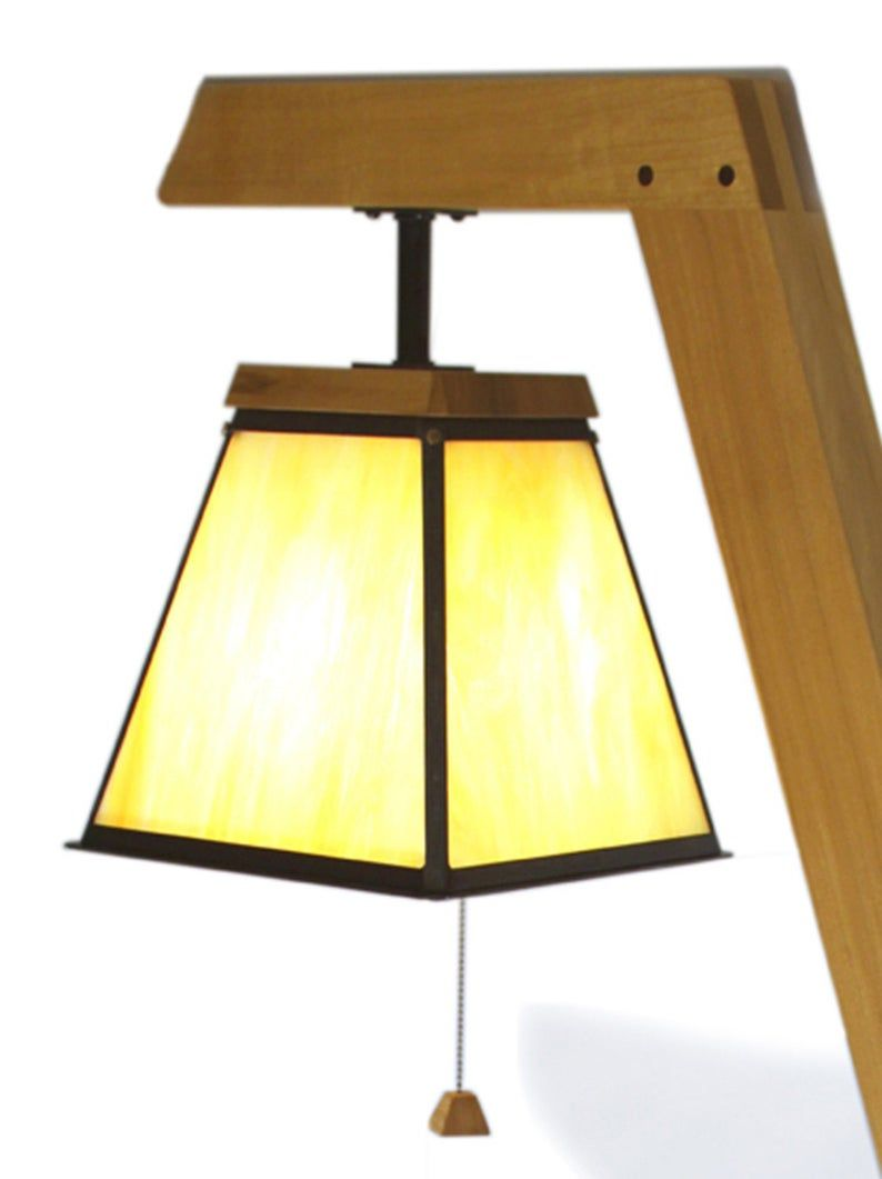 Floor Lamp Table Combo Etsy In 2021 Floor Lamp Table Wood Floor Lamp Lamp