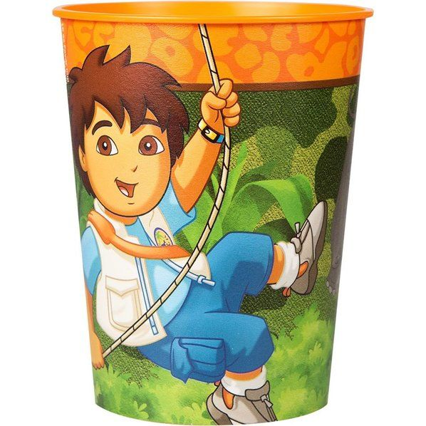 Check out Diego's Biggest Rescue Favor Cup (Each) - Bargain Party Favors…