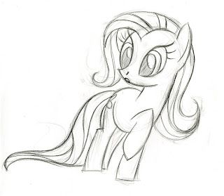 Equestria Daily: Production Sketches on Lauren Faust's DA Page