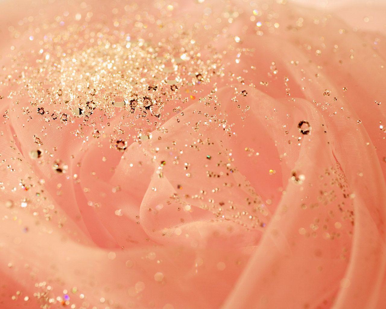 Pink And Gold Glitter Iphone Wallpaper: Glitter Desktop Wallpapers - Wallpaper Cave