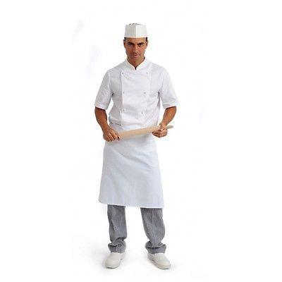 faf6755c0f02ca PAGAMENTO ANCHE ALLA CONSEGNA Giacca Uomo Cuoco Chef lavoro Mezza Manica  Ristorante Cucina Abbigliamento Abiti