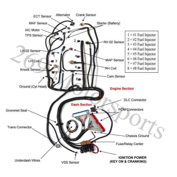 1997 4l60e Wiring Harness Diagram. Schematic. Free Wiring