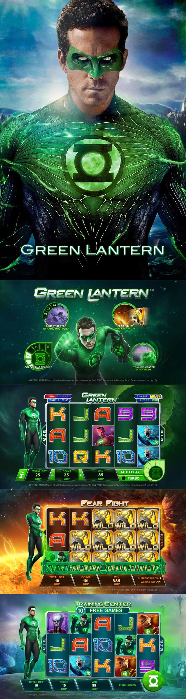 Fight evil and win big with the Green Lantern slot by