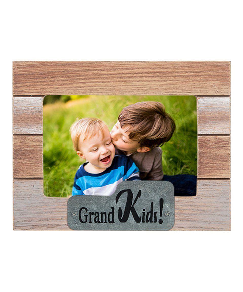 Take a look at this Clapboard Motif \'Grandkids\' Horizontal Frame ...