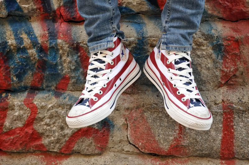 Can't lie.. I kind of want them. Woo America!   Converse, American ...